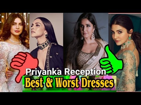 Best & Wrost Dressed at Priyanka Chopra Nick Jones wedding reception Mumbai