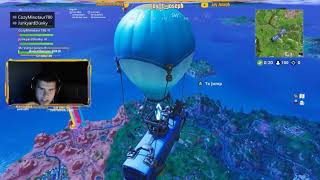 Jay's Fortnite stream with Tyler Joseph - Game 4