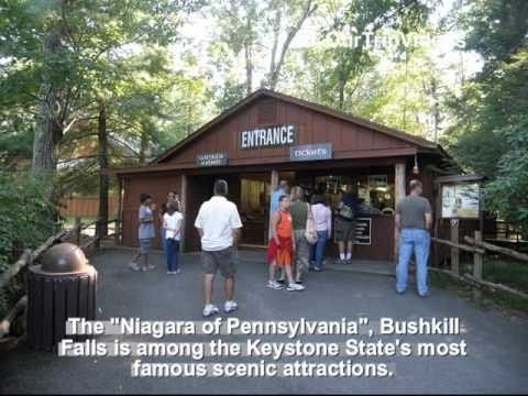 Pictures of Bushkill Falls, Bushkill, PA, US