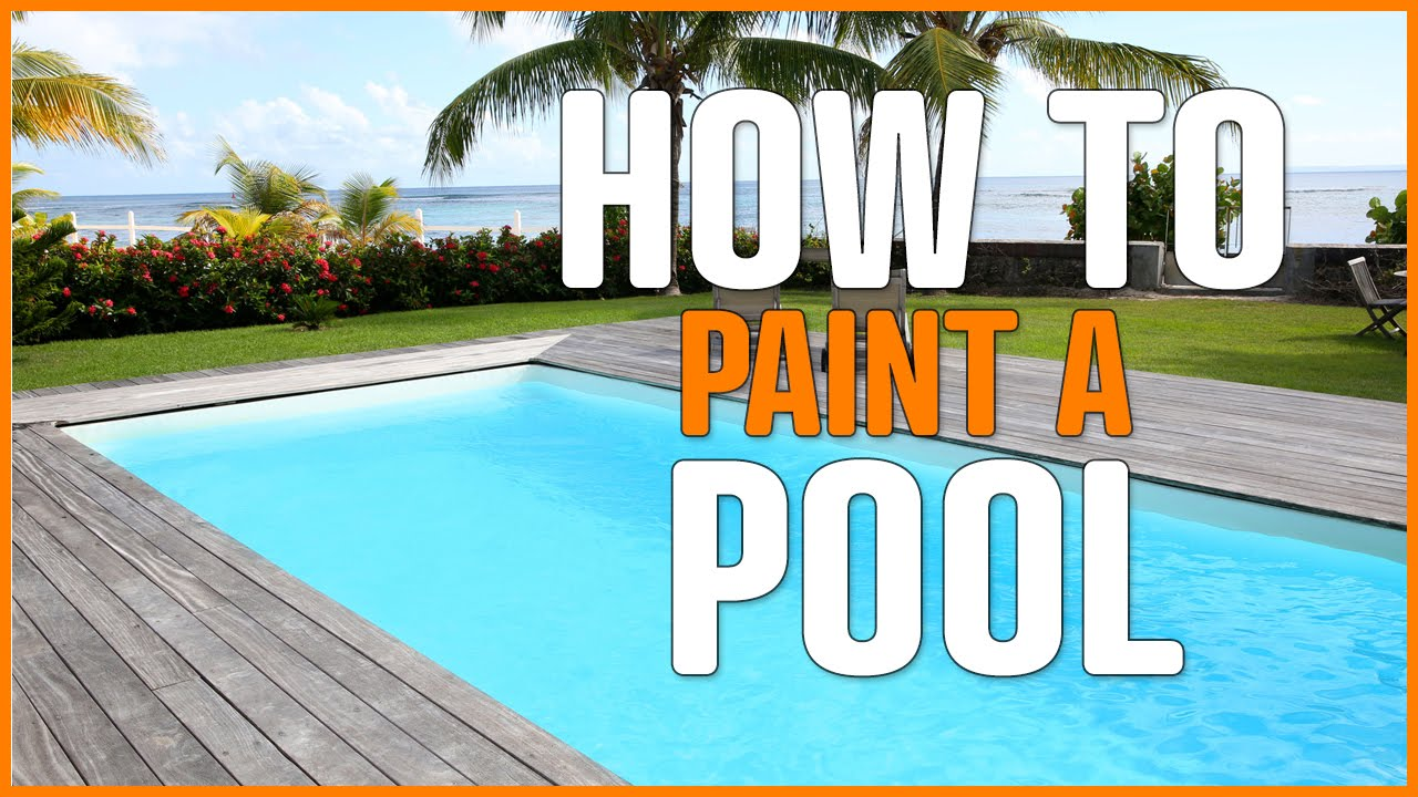 Swimming pool paint decorative and protective concrete and - Waterproof paint for swimming pools ...