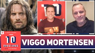 Viggo Mortensen Shares On-Set Stories From 'Lord of the Rings' and 'Green Book'   10 Questions