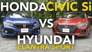2018 Honda Civic Si vs Hyundai Elantra Sport Comparison