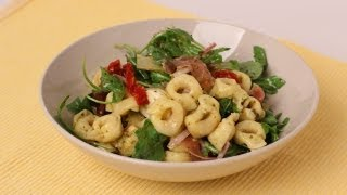 Tortellini Pasta Salad Recipe - Laura Vitale - Laura in the Kitchen Episode 448