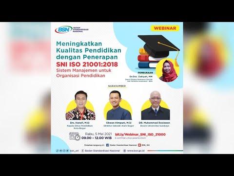 https://www.youtube.com/watch?v=IA4j4xxpXnwMeningkatkan Kualitas Pendidikan dengan Penerapan SNI ISO 21001:2018