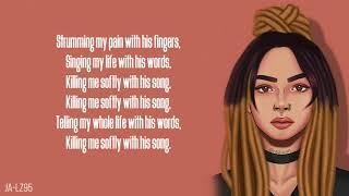 Zhavia - Killing Me Softly (Lyrics)(The Four)