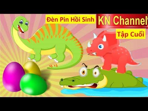 BÚP BÊ KN Channel & ĐÈN PIN HỒI SINH KHỦNG LONG Tập 4 GIẢI CỨU KHỦNG LONG BỊ BẮT CÓC