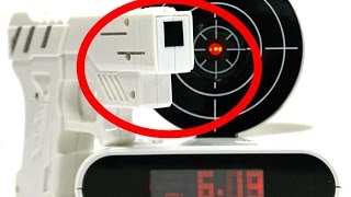 8 Crazy Alarm Clocks That Are Sure to Wake You Up