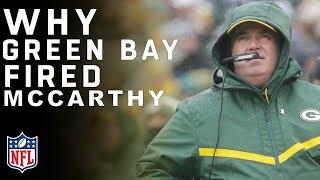 Packers Fire Head Coach Mike McCarthy | Breaking News