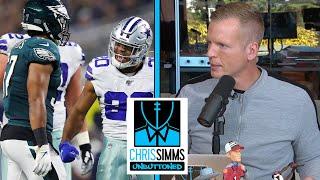 Game Review: Philadelphia Eagles vs. Dallas Cowboys Week 7 | Chris Simms Unbuttoned | NBC Sports