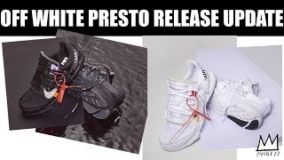 OFF WHITE PRESTO RELEASE DATE, CONCORD 11 UPDATE, UNDEFEATED NIKE CANCELLED!! & MORE!!