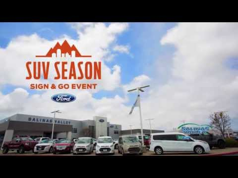 Salinas Valley Ford - SUV Season - Sign & Go Event