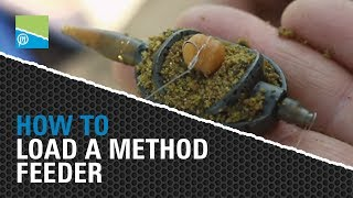 Video thumbnail for HOW TO Load a Method Feeder Preston Innovations Match Fishing Videos