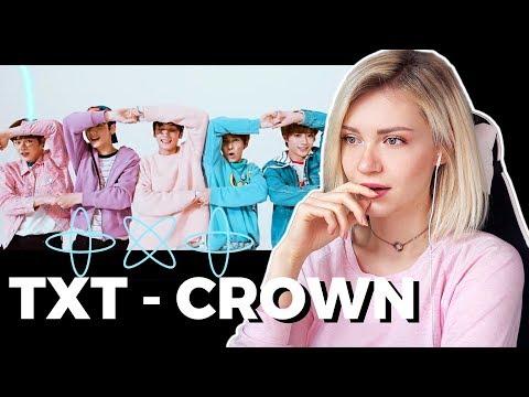 TXT - CROWN MV First Reaction