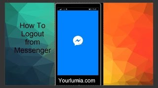 HOW TO LOGOUT FROM MESSENGER