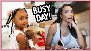 Follow Me Around | Mom Life, Shopping, Working!