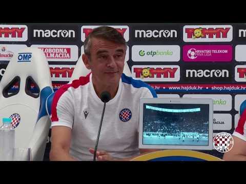 Trener Burić uoči Hajduk - Gorica