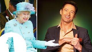 """""""She had no idea!"""" Hugh Jackman on surprising The Queen."""