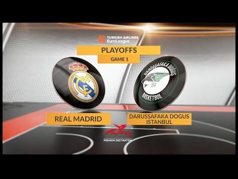 Real Madrid BC vs Darusafaka Dogus