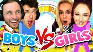 GIRLS VS BOYS: THE GAME OF LIFE!! (rematch) -
