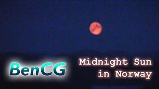 A late night walk in Norway with the Midnight Sun! // NO11 - ep.2