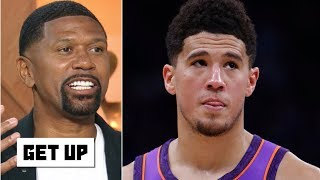 Jalen Rose disagrees with Devin Booker on double teaming in pickup games | Get Up
