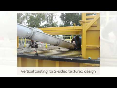 Concrete Fence Molds | AFTEC Fence Foming Systems