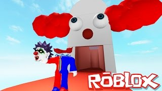 Roblox Adventures / Escape Clown Prison Obby / Escaping the Evil Clowns!!