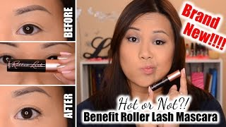 NEW!!! Benefit Roller Lash Mascara   Review + Demo