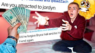 PAYING BAD ZACH TO TELL ME HIS DEEPEST SECRETS...