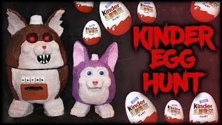Tattletail Kinder Surprise Egg Hunt! (WE OPEN THEM ALL)
