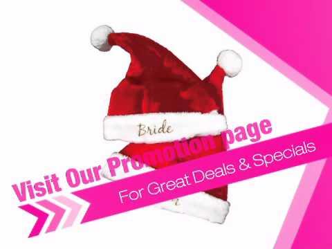 Personalized Santa Hats - AdvantageBridal.com