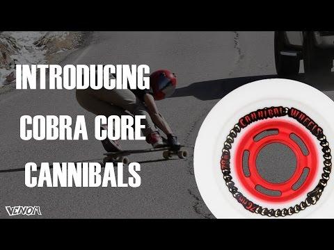 Video VENOM CANNIBALS 76mm White Wheel [x4]