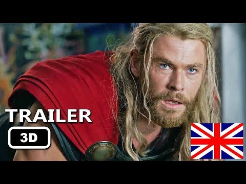 THOR 3 Ragnarok English Teaser Trailers in 3D #YT3D