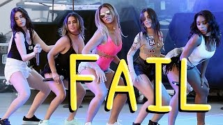 Fifth Harmony (with Camila) | Live EPIC VOCAL FAILS Compilation