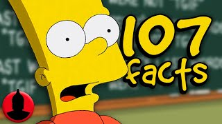 107 Bart Simpson Facts YOU Should Know! | Channel Frederator