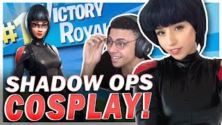 POKI & MYTH'S SECRET FORTNITE MISSION! Shadow Ops Cosplay!