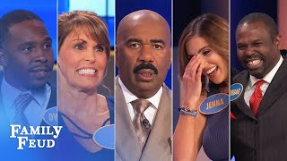TOP 5 MOMENTS FROM FEBRUARY 2018! | Family Feud