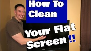 How To Clean a Flat Screen TV   LED, LCD Or Plasma