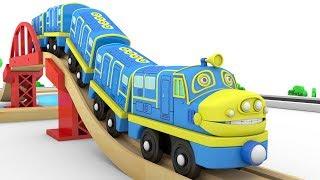 Choo Choo Train - Helicopter cartoon for kids - Toy train cartoon video - choo choo Train kids video