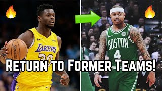5 NBA Stars Who May Return to Their FORMER Teams This Offseason! | Randle to Los Angeles Lakers?