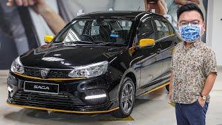 FIRST LOOK: 2020 Proton Saga Anniversary Edition - RM39,300