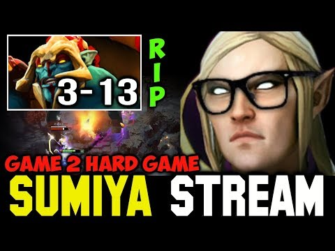RIP Huskar ft Cancer 4v5 Game | Sumiya Invoker Stream Moment #148