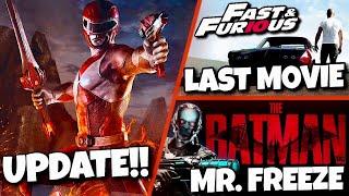 Power Rangers Reboot, The Batman, Fast & Furious Finale & MORE!!