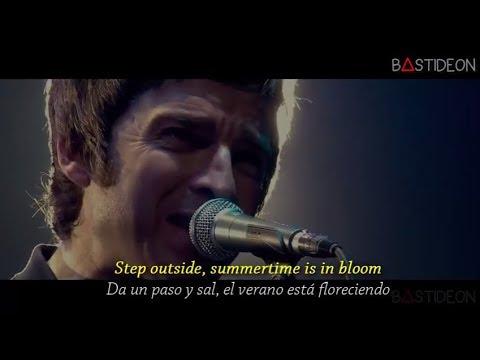 Oasis - Don't Look Back In Anger (Sub Español + Lyrics)