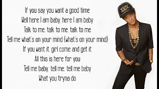 That's What I Like - Bruno Mars (Lyrics)