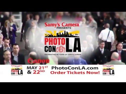 Samy's Camera & Canon Present PhotoCon LA!