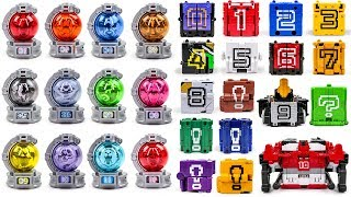 PowerRangers Cube VS Ball KyuRanger Ultimate KyuTamaJin VS ZYUOHGER DX WILDTOUSAIDODEKAKING Transfor