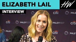 Elizabeth Lail Reveals Penn Badgley And Her's Instant Chemistry | Hollywire