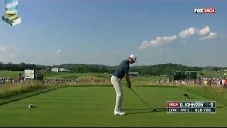 Champion Dustin Johnson's Majestic Golf Shots 2016 US Open Championship at Oakmont