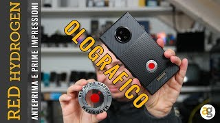 Unboxing RED HYDROGEN con DISPLAY OLOGRAFICO e SORPRESA!
